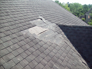 hail damage roof repair in Greater Montgomery County, Chester County & Nearby